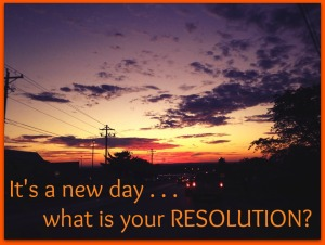 new day resolution