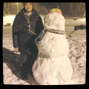 Tati snowman