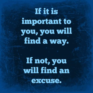 If it is important